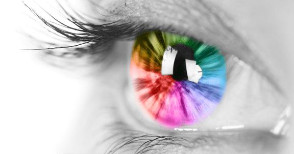 رنگ چشم از پدر